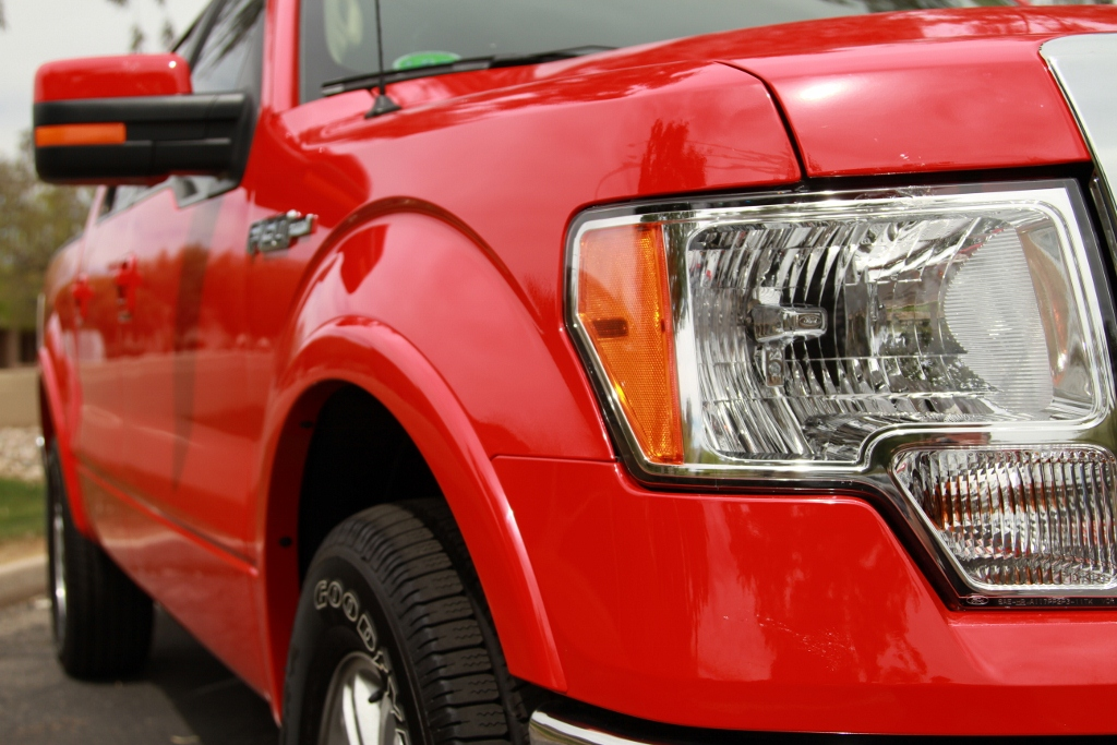 2-Red Ford F150