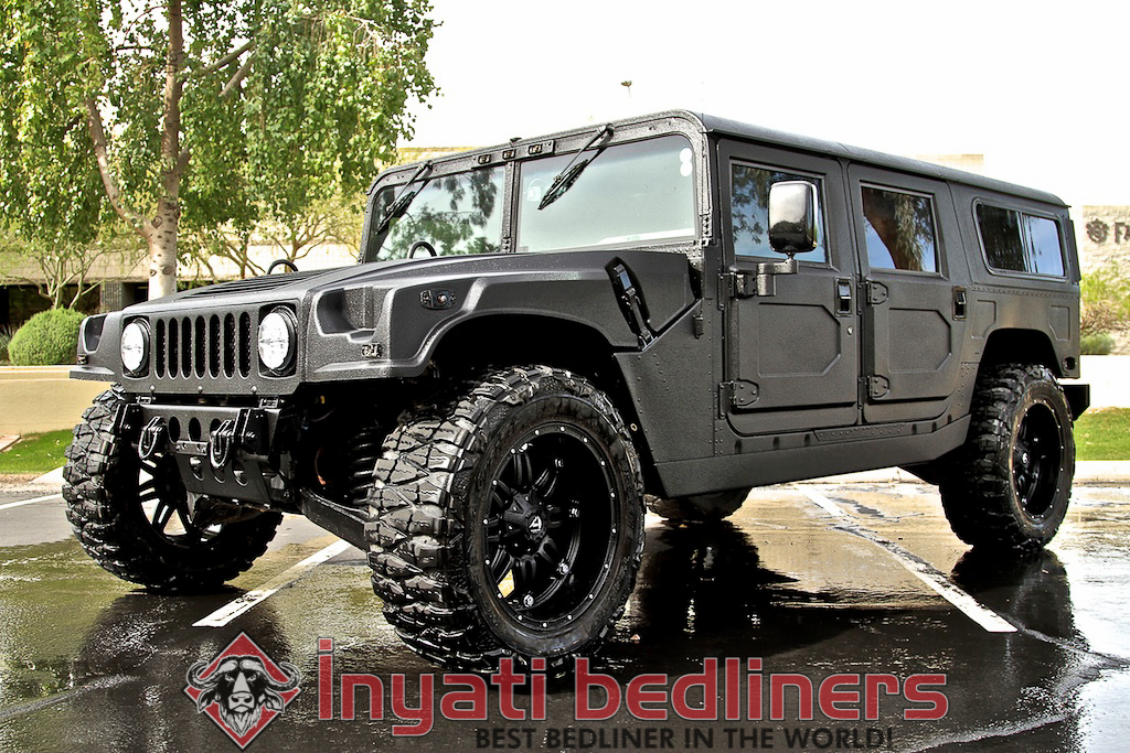 Custom Hummer H1 By Inyati Sprayed In Bed Linersinyati Bedliners